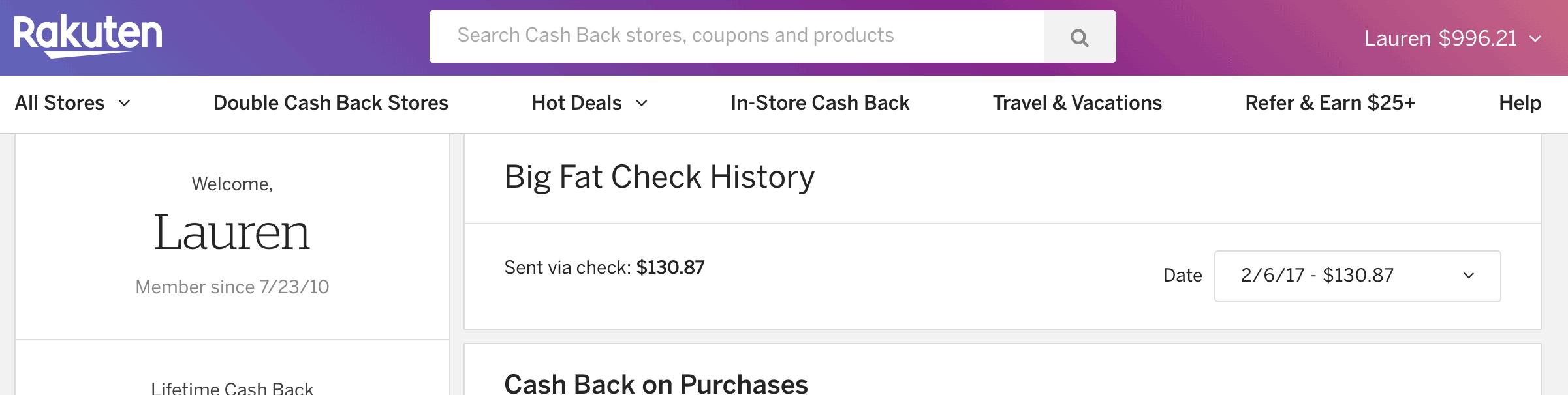 save money shopping with Rakuten