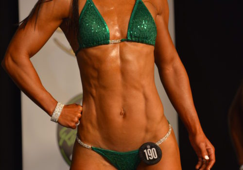 fitness competitor - NPC Bikini Bodybuilding Competition Prep by popular New Jersey fitness blogger Fit Mommy in Heels