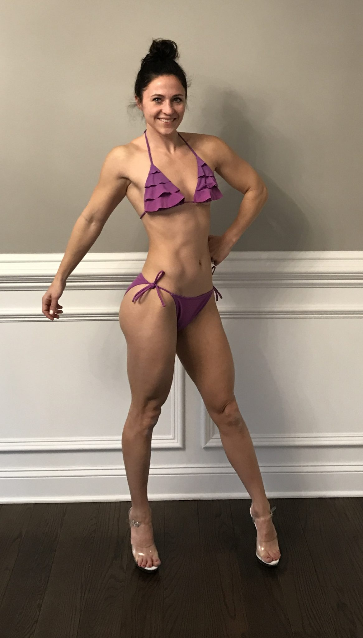 week 1  - NPC Bikini Bodybuilding Competition Prep by popular New Jersey fitness blogger Fit Mommy in Heels