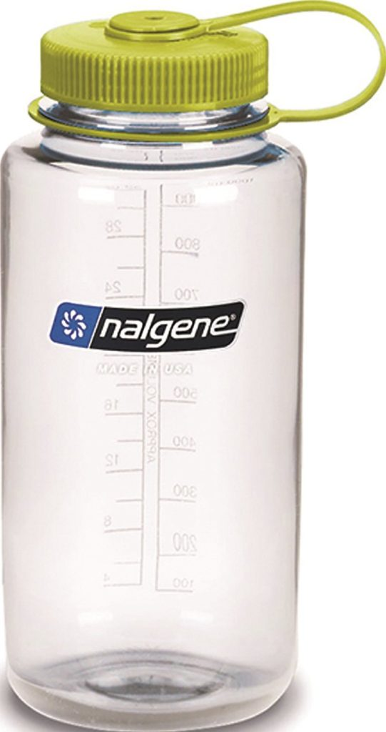 nalgene water bottle - Living with Hypoglycemia & Vasovagal Syncope by popular New Jersey fitness blogger Fit Mommy in Heels