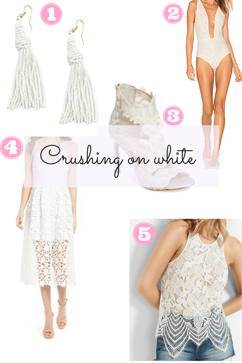 white spring outfits