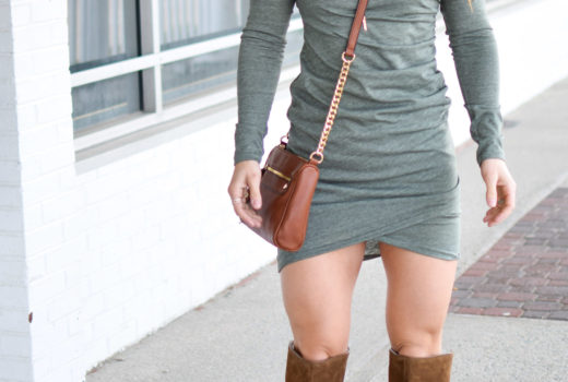 green dress - Most Flattering Dress EVER by popular New Jersey style blogger Fit Mommy in Heels