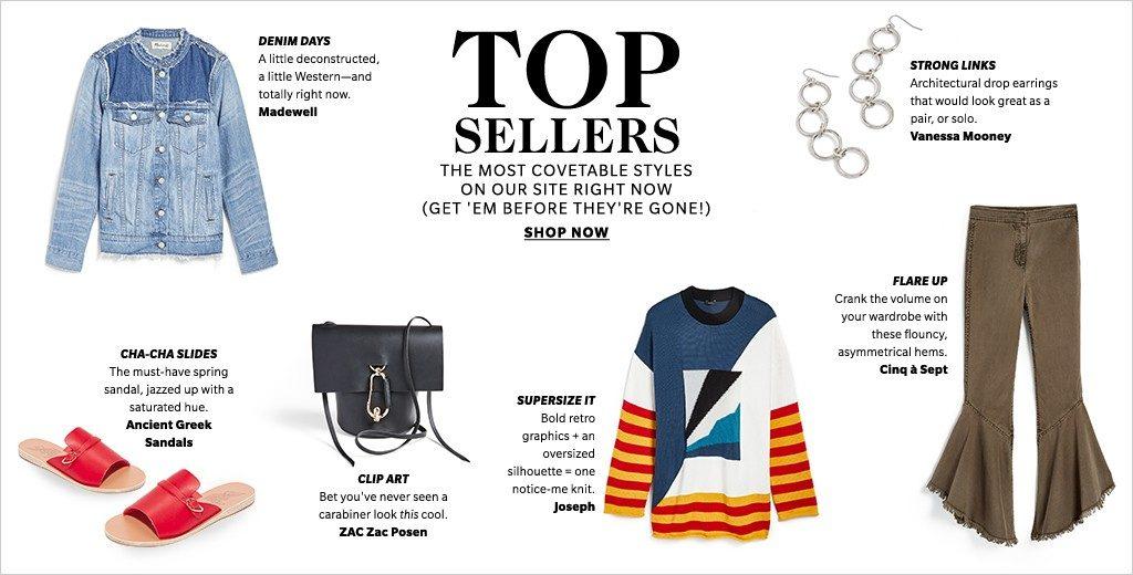 ShopBop Top Sellers
