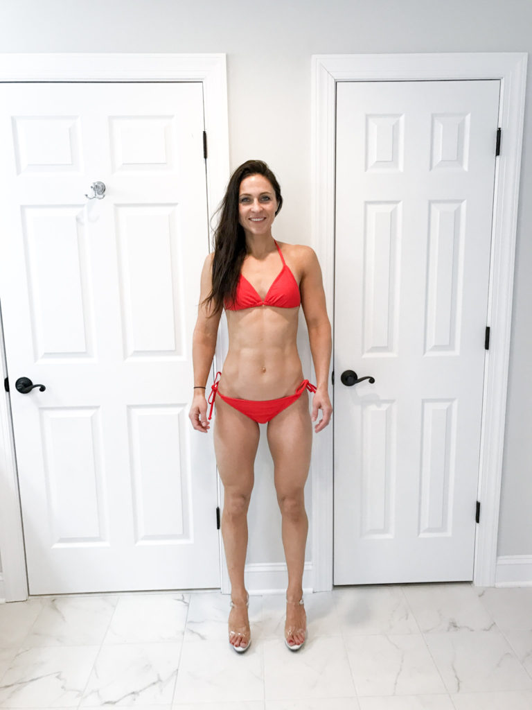competition prep - 2 weeks out - Competition Prep Progress by popular New Jersey fitness blogger Fit Mommy in Heels