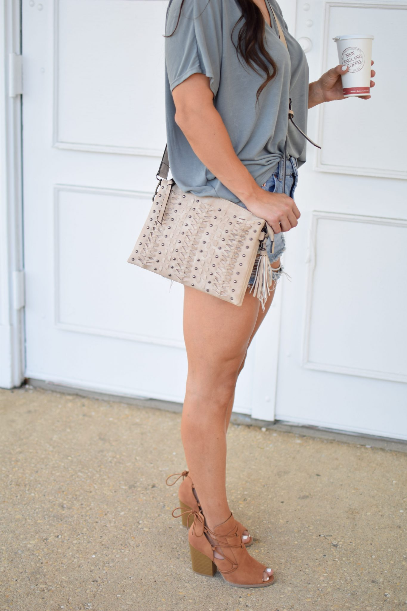 Shoetopia Booties styled by popular New Jersey style blogger Fit Mommy in Heels