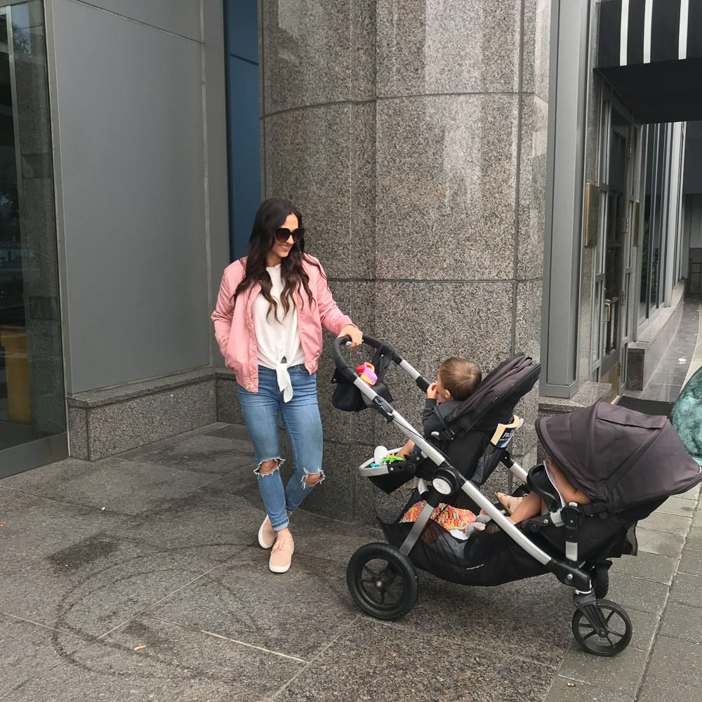 walking baltimore - A Weekend In Baltimore Maryland with Toddlers - Where to stay, What to eat, Things to do by popular New Jersey lifestyle blogger Fit Mommy in Heels
