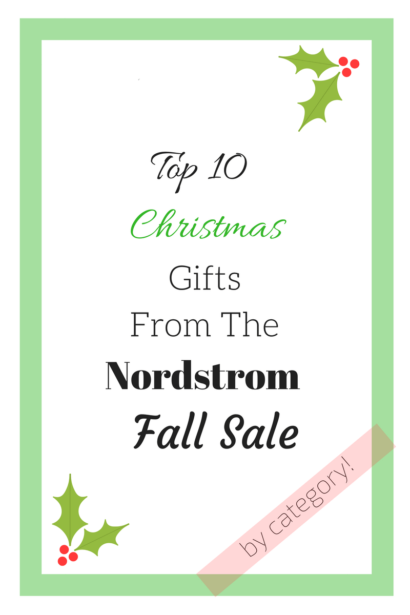 Top 10 Gifts from the Nordstrom Fall Sale | Fit Mommy In Heels