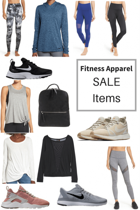 Fitness Apparel Sale - Weekly Workout 1/22/17 & Fitness Apparel On Sale by popular fitness blogger Fit Mommy in Heels