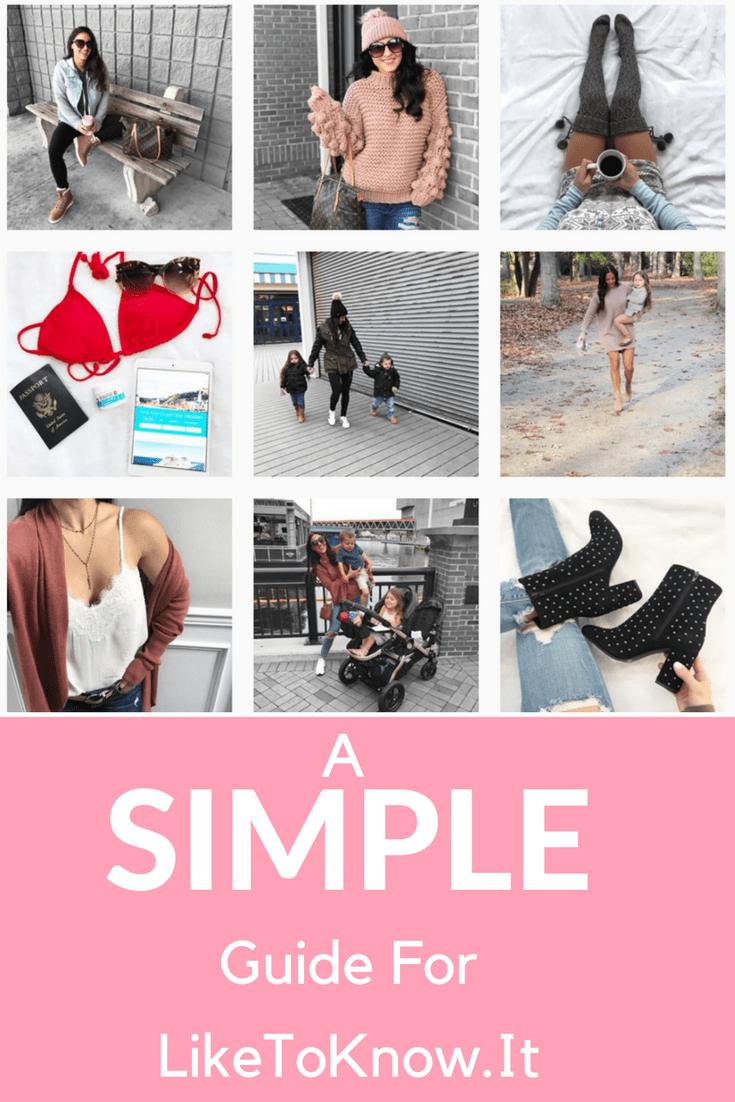 LikeToKnow.It Guide - What is Is, How To Use It, How To Follow Me by popular New Jersey fashion blogger Fit Mommy in Heels