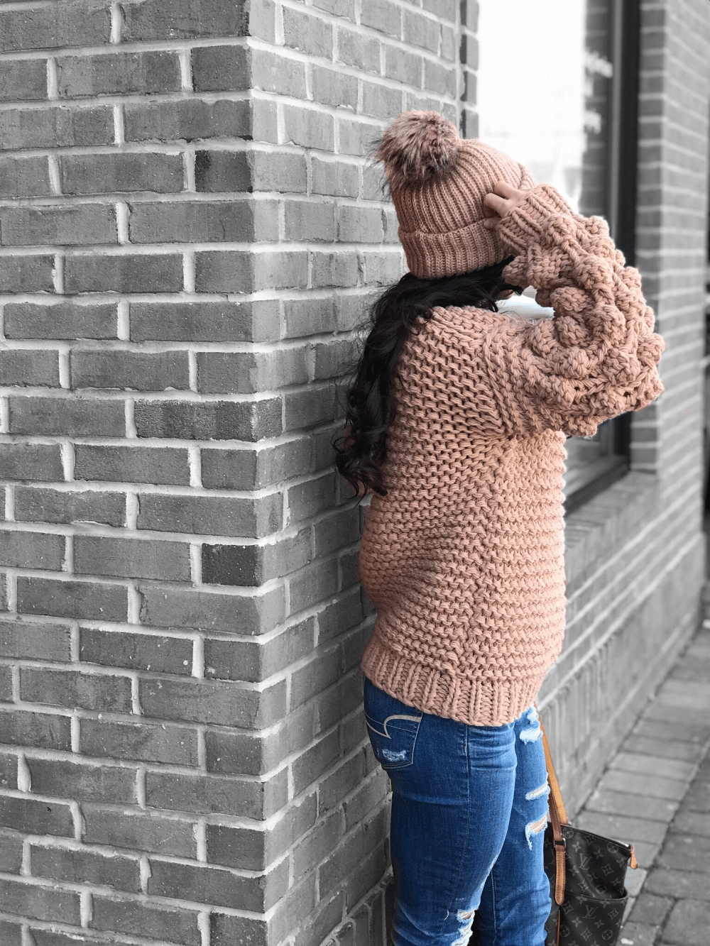 Pom Sweater - The Best Weekend Sales and the Cutest Pom-Pom Sweater by popular New Jersey style blogger Fit Mommy in Heels