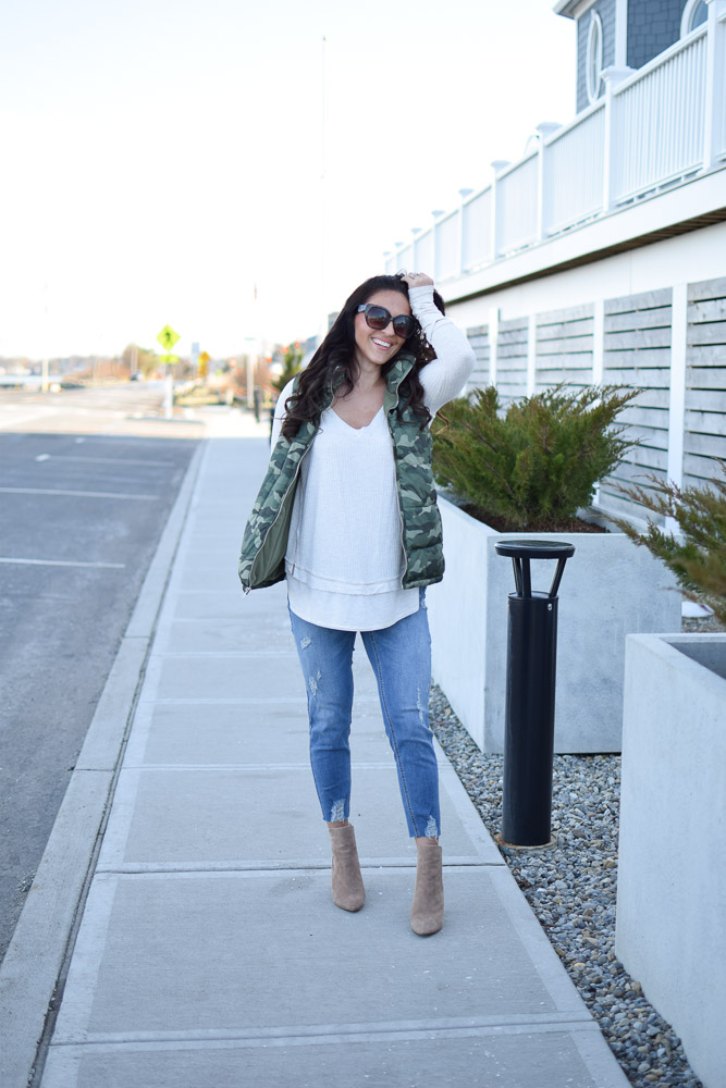 Maternity Wardrobe Staples by popular New Jersey style blogger Fit Mommy in Heels