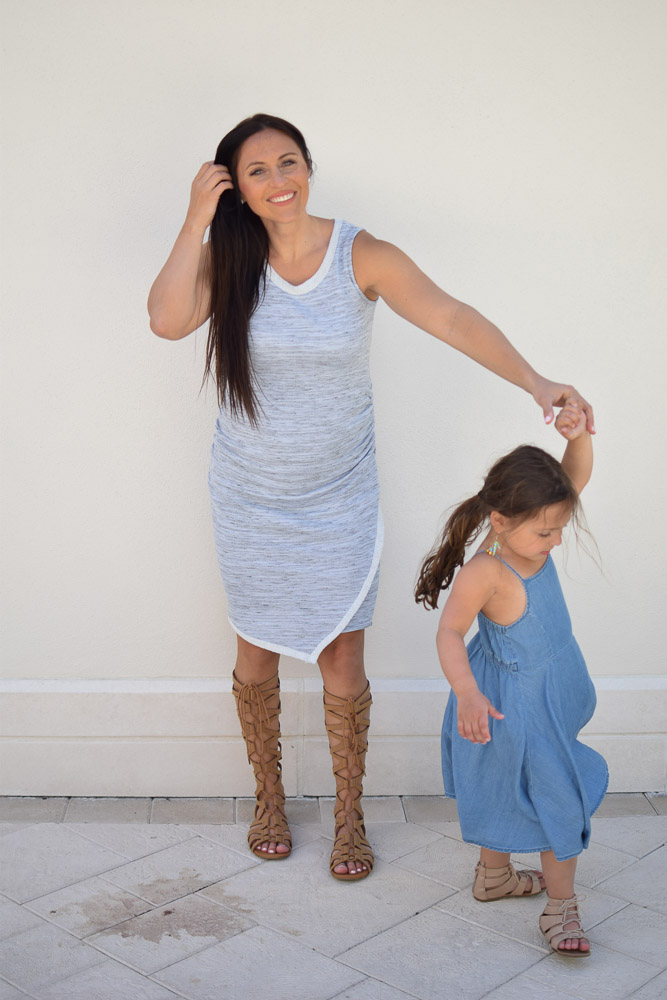 2 Functional Maternity Dresses For Your Second Trimester by popular New Jersey style blogger Fit Mommy in Heels