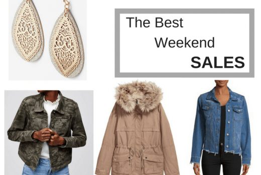 The Best Weekend Sales by popular New Jersey style blogger Fit Mommy in Heels