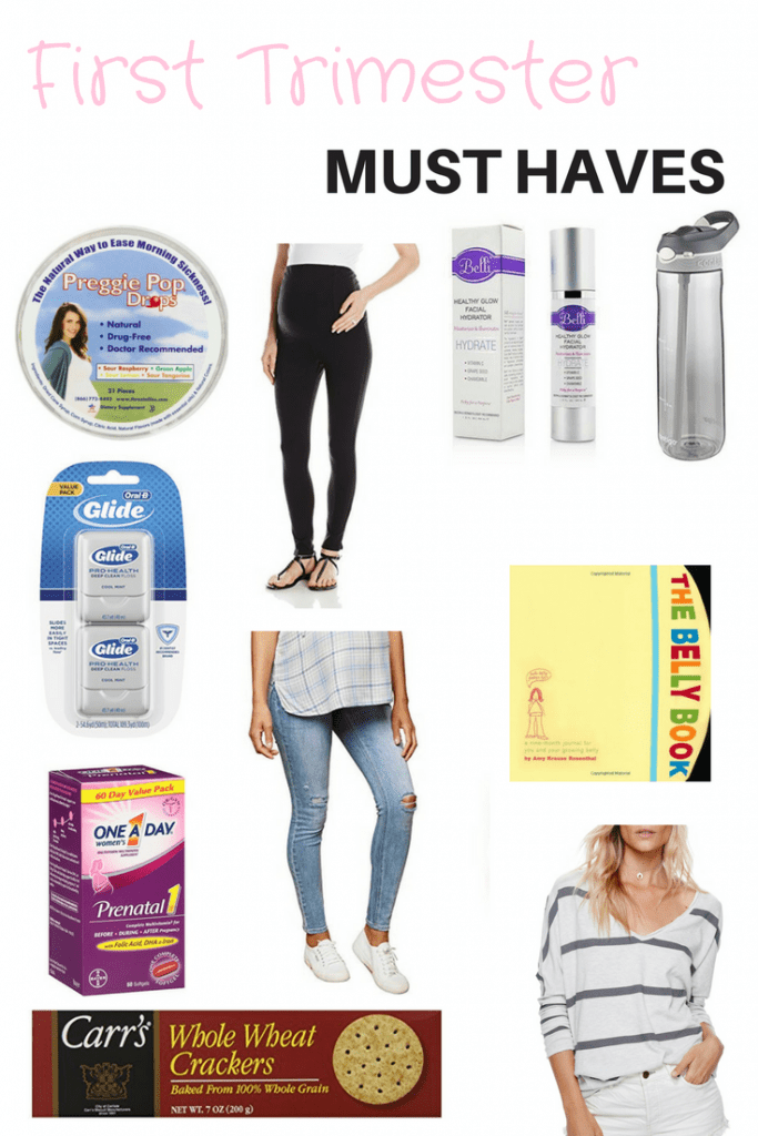 First Trimester Must Haves From A Third Time Mom