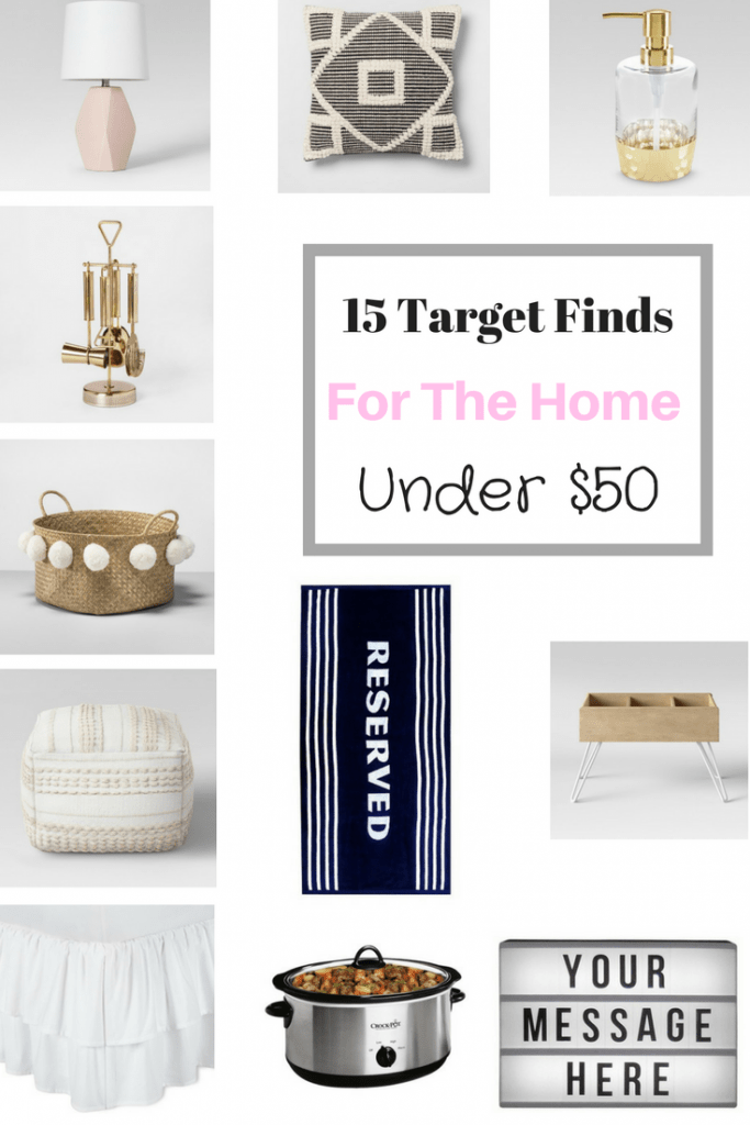 15 Target Finds Under $50 – For The Home
