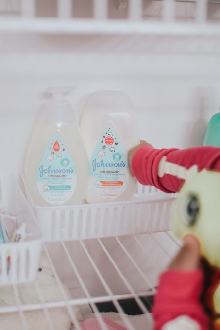 newborn bath products