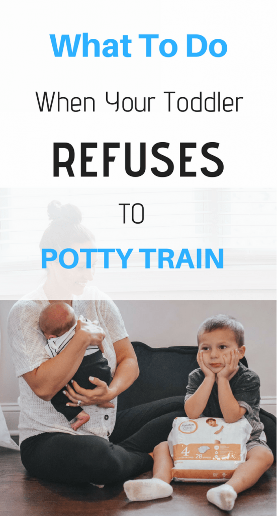 toddler refuses to potty train