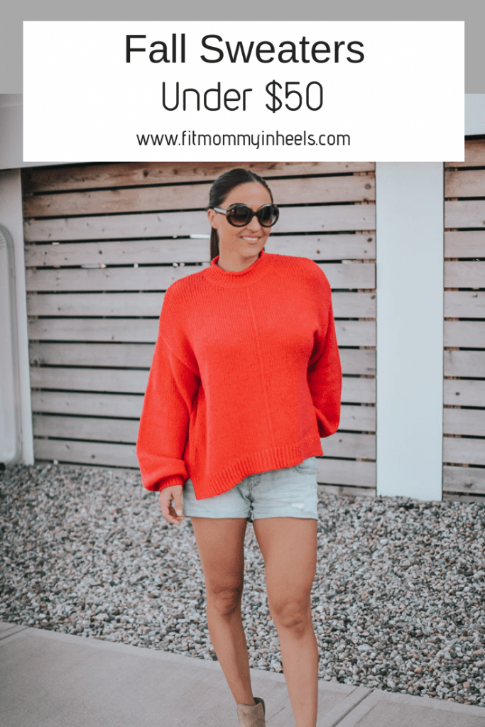 fall sweaters under $50
