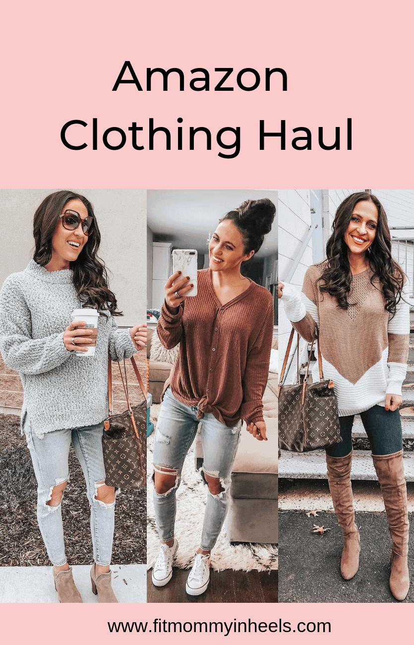 January Amazon Clothing Haul