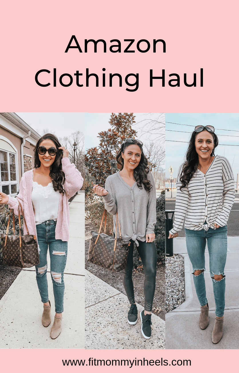 february amazon clothing haul