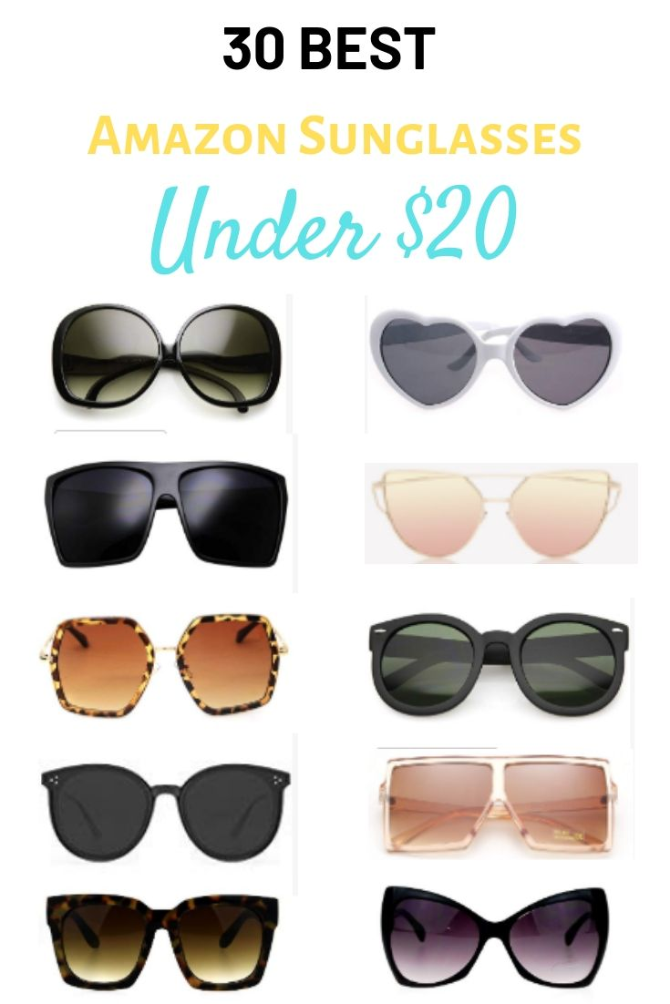 The 30 Best Amazon Sunglasses Under $20