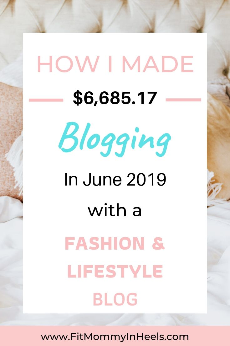Income Report June 2019 – How I made $6,685.17