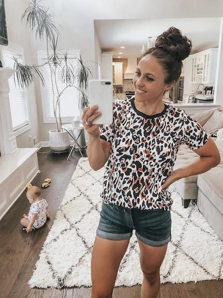 cheetah tshirt