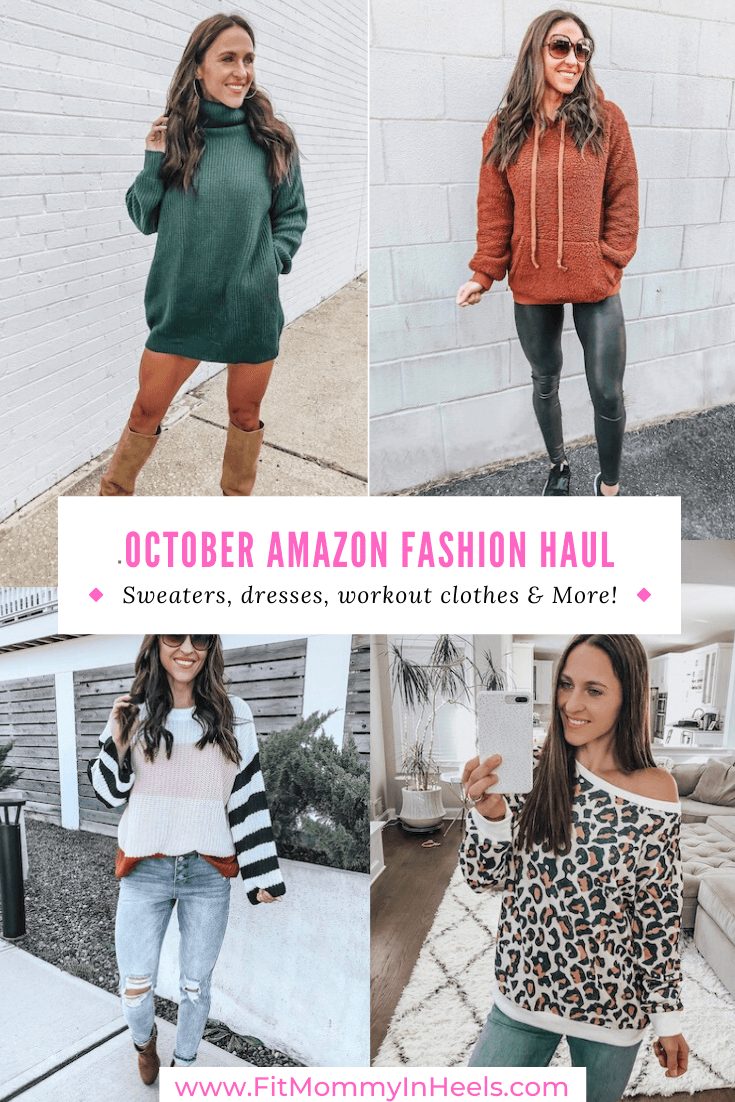 october amazon fashion haul