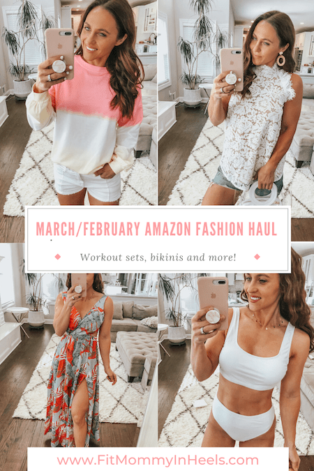 February & March Amazon Fashion Haul