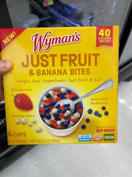 Just Fruit & Banana Bites