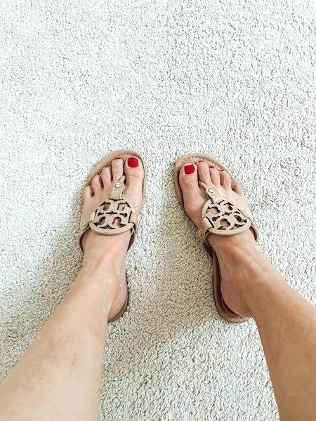 tory burch miller look alike sandals