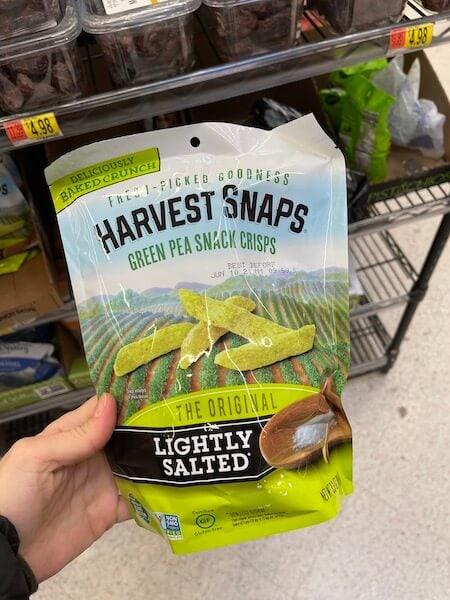 harvest snaps - healthy walmart snacks